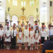 First Communion and Confirmation at St. Teresa's Parish.